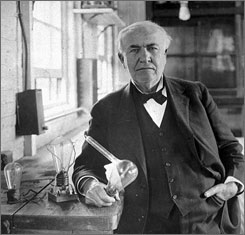 effects of thomas edison Edison invented or refined devices that made a profound impact on how people lived the most famous of his inventions was the incandescent light bulb (1878), which would revolutionize indoor lighting and forever separate light from fire.