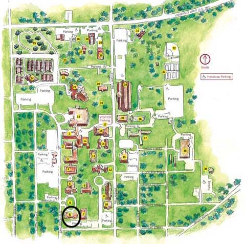 Fine Arts Building Map