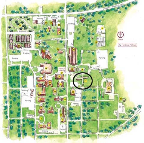 Jones Hall Map