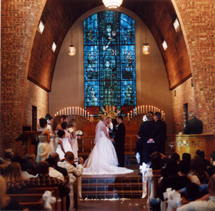 A Wedding in the Little Chapel-in-the-Woods