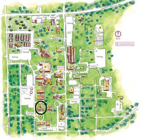 Music Building Map