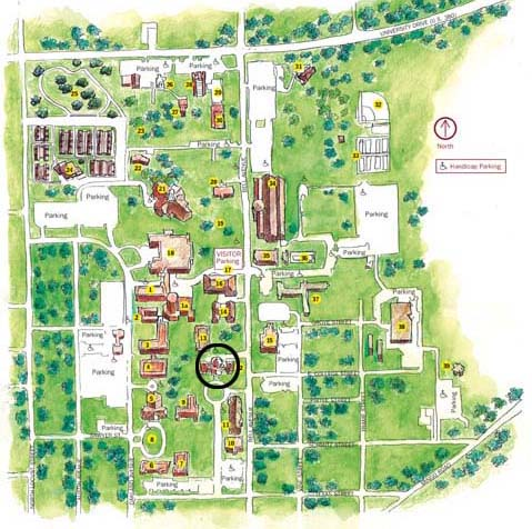 Old Main Map