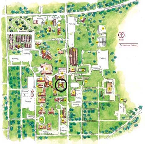 Stoddard Hall Map