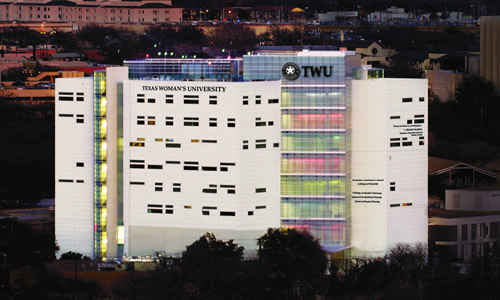 photo of the TWU T. Boone Pickens Institute of Health Sciences - Dallas Center