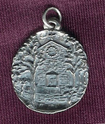 Little Chapel in the Woods Pendant / Charm