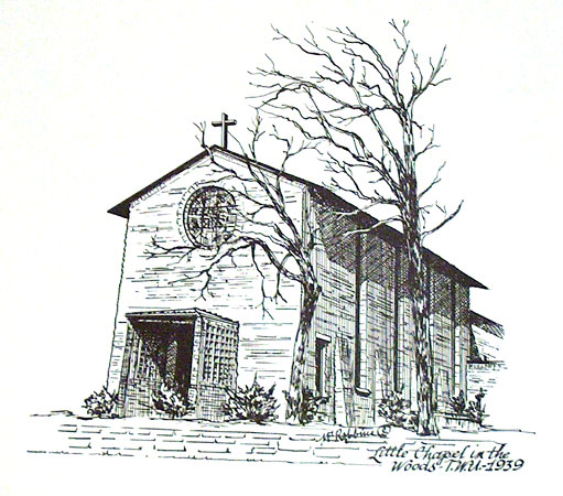 Little Chapel sketch - Robbins