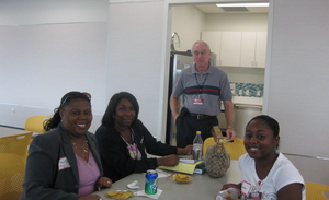 HCA students with Dr. Gerald Goodman