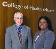College of Health Sciences: Dr. Gerald Goodman and Monica King