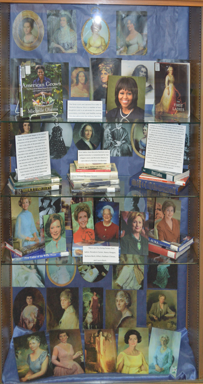 First Ladies Wall Case Image
