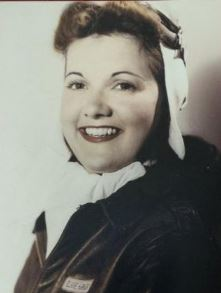Elaine Harmon in a photo from the 1940s