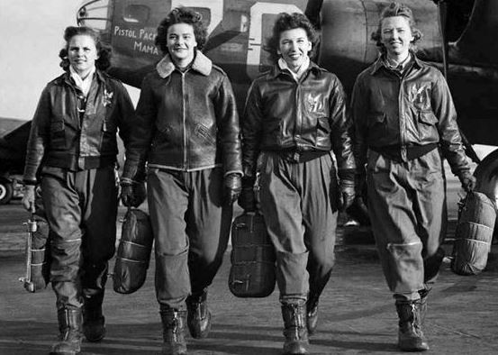 Female WASP pilots