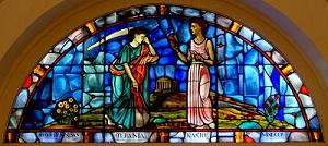 Windows of the Muses - Urania, Clio