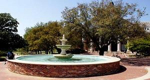 Library Fountain