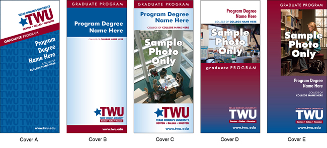 TWU Deparment Brochure Covers A - E
