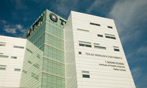 photo of the TWU T. Boone Pickens Institute of Health Sciences-Dallas Center