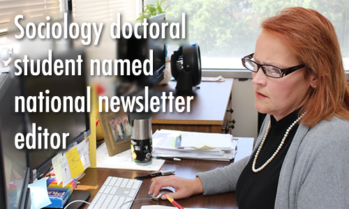 Valarie Bell, sociology doctoral student named editor