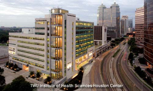 photo of the TWU Institute of Health Sciences-Houston Center