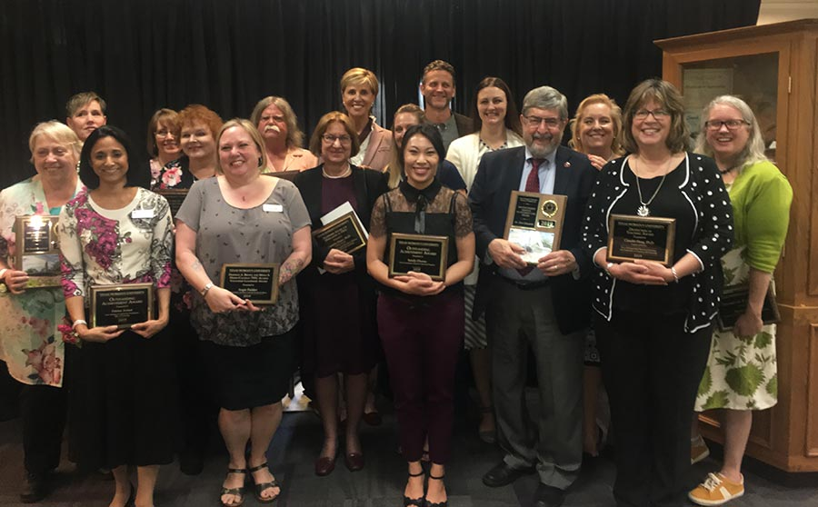 2019 Faculty and Staff Award Winners