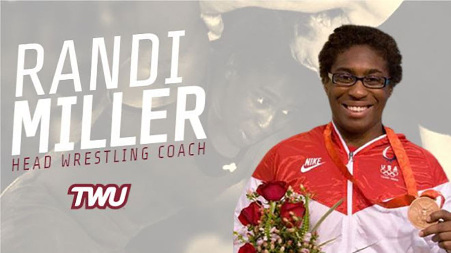 Randi Miller, Head Wrestling Coach TWU