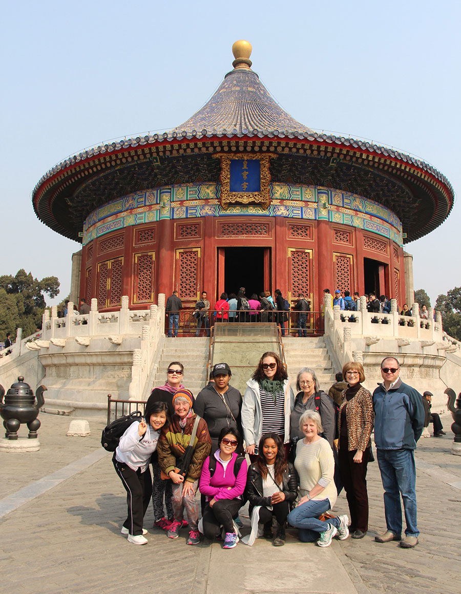 China trip March 2017 Temple of Heaven