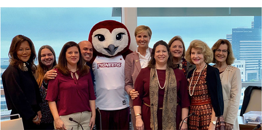 Regents with new mascot, Oakley
