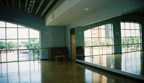 Pioneer Hall dance studio