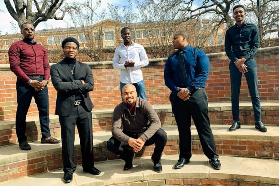 Phi Beta Sigma Fraternity Members