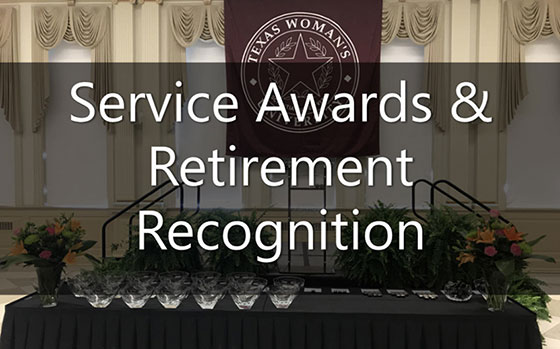 Link to service awards and retirement recognition