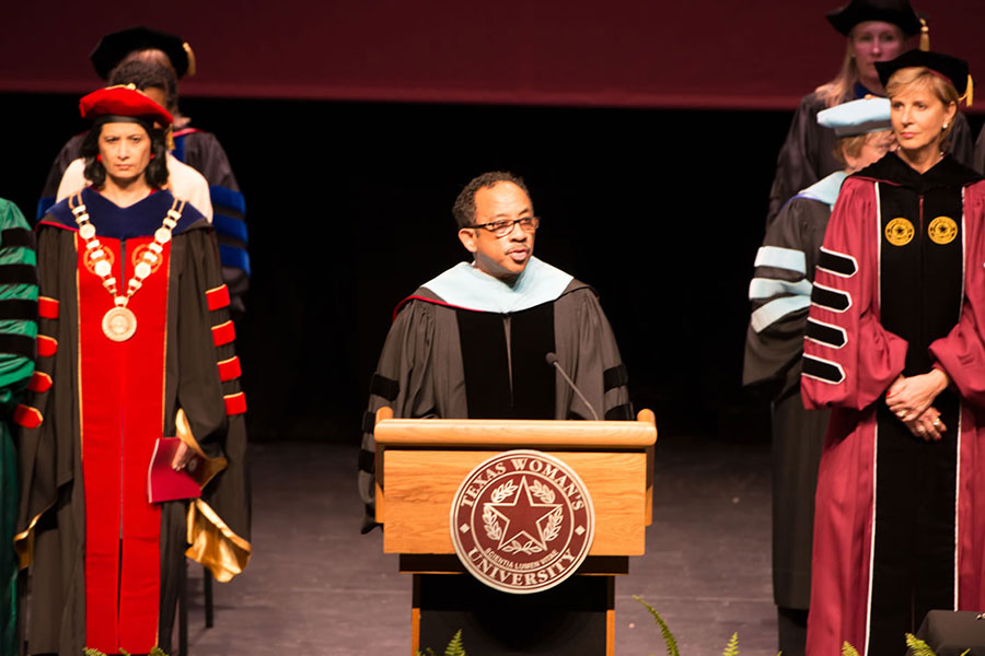 Invocation: Reverend Doctor Michael Dantley, Bishop of the Christ Emmanuel Christian Fellowship, Cincinnati OH, and Dean of the School of Education, Loyola University Chicago, Chicago, IL