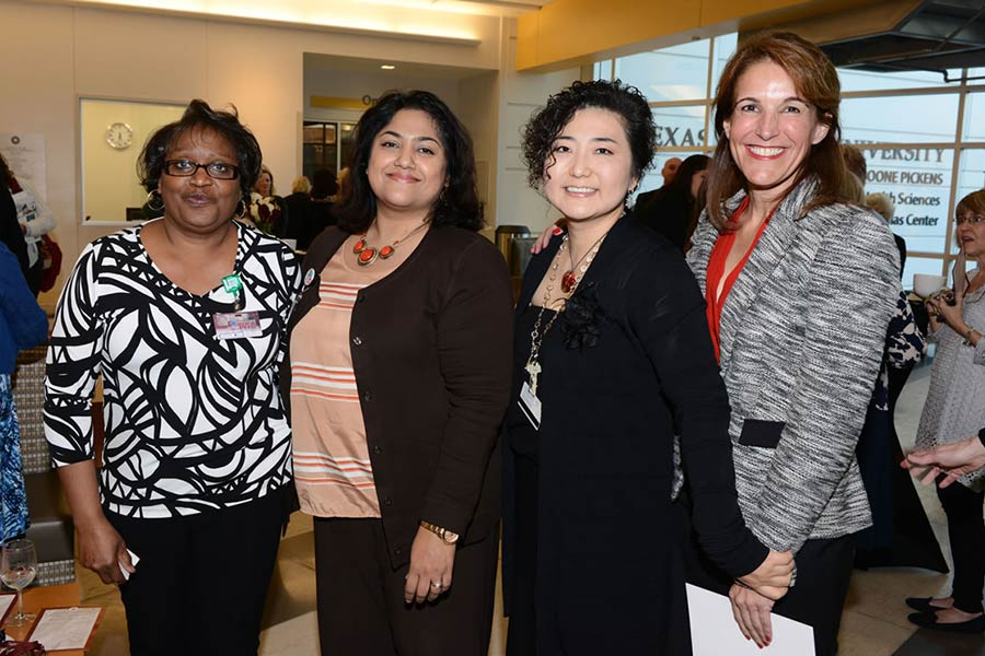 Margie Norris, Shopha Tserotas, Dr. Kyoung Lee and Dr. Michelle Kimzey