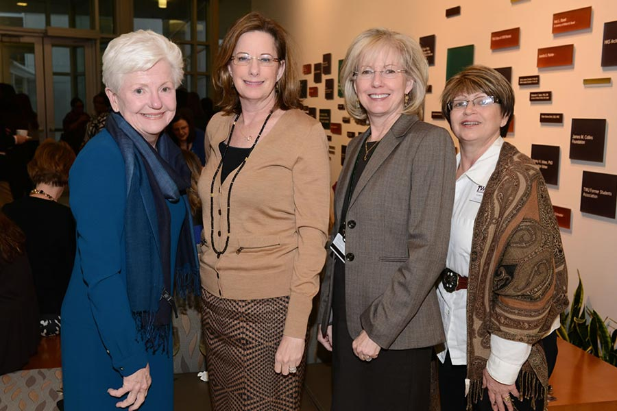 Gloria Byrd, Nancy McMenamy, Deborah Taper and Karen Zapata