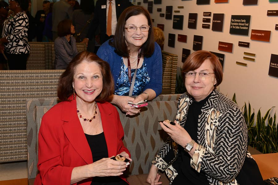 Susan Chaney, Kathryn Kremer, and Susan Sheriff