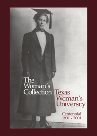 Poster for the Woman's Collection centennial, 1901-2001
