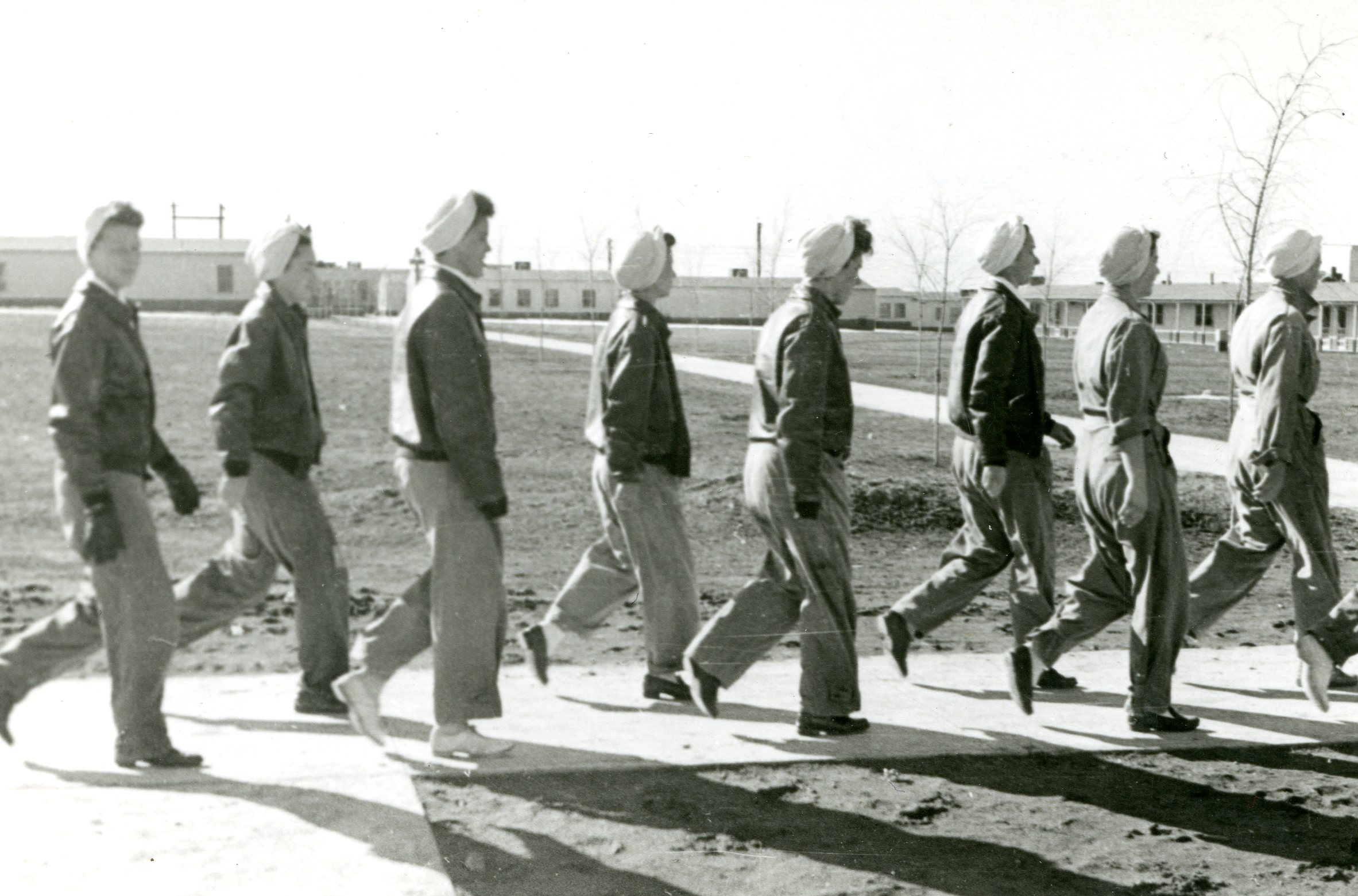 WASP class 44-W-1 marching