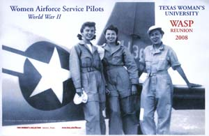 Poster with Betty Jo Streff, Ellen Wimberly, and Eileen Wright