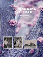 Book cover of Marking a Trail by Joyce Thompson