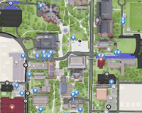 Denton Campus 3D Map Thumbnail