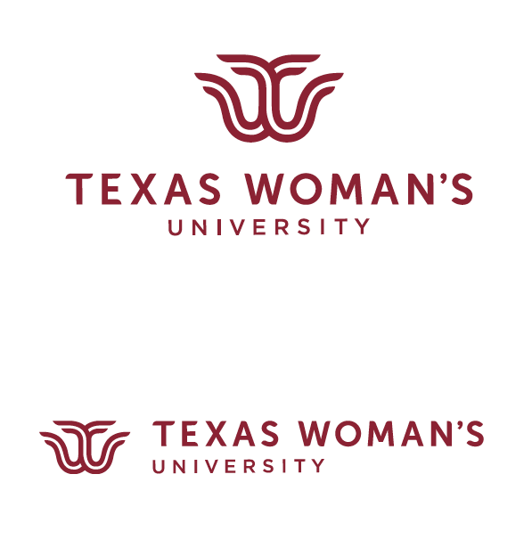 One-color TWU logos in maroon