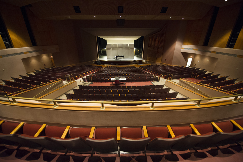 Photo of Margo Jones Performance Hall interior with seating