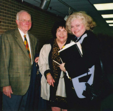 Photo of Alonzo Jamison, Elisabeth Jamison and Sarah Weddington