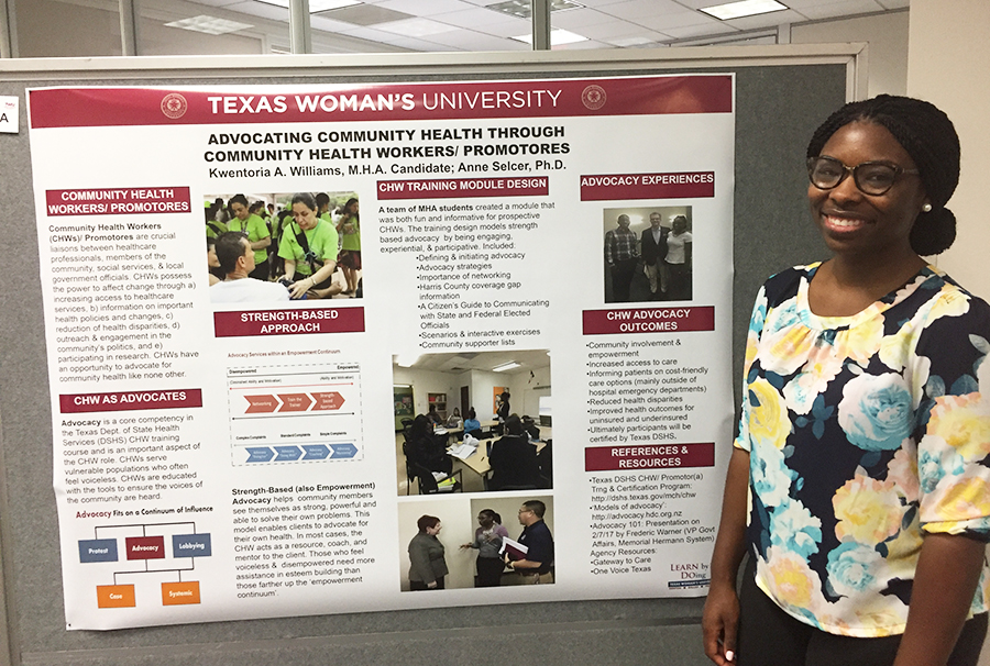 HCA student Kwentoria Williams