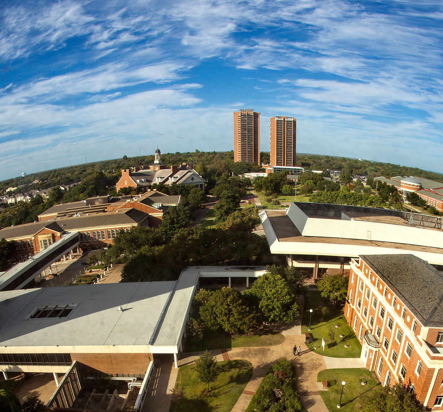 Picture of the Denton campus.