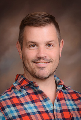 Headshot of dance professor Matt Henley