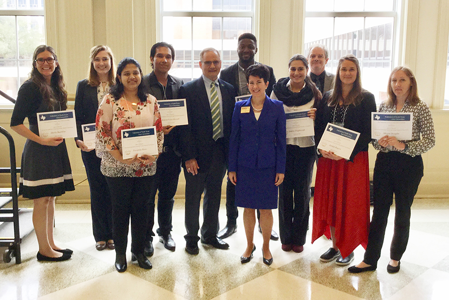 Winners from Graduate Research Symposium
