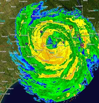 A Radar Image of a Hurricane by the National Weather Service http://www.weather.gov/Radar