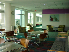 Eating Area at TWU Houston