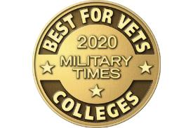 Military Times Best for Vets Colleges 2020 logo