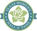 The official logo of the Texas Women's Hall of Fame