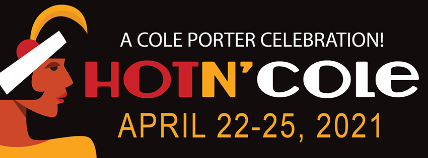 Poster for TWU Music and Theatre production of 'Hot 'n Cole' April 22-25