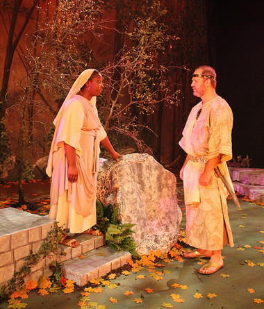 TWU Theatre students perform Phaedra on stage